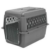 Cage de transport à animaux, gris, 36'' x 25'' x 27''
