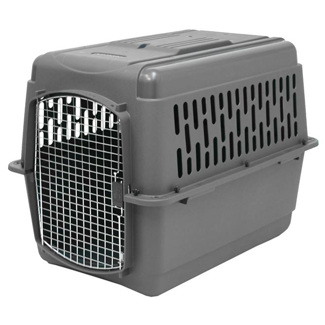 Pet Carrier - Light Grey - 32'' x 22 1/2'' x 24''