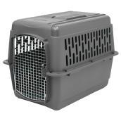 Cage de transport à animaux, gris, 32'' x 22 1/2'' x 24''