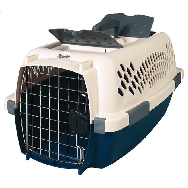 Cage de transport à animaux style taxi, 26'' x 19'' x 16''