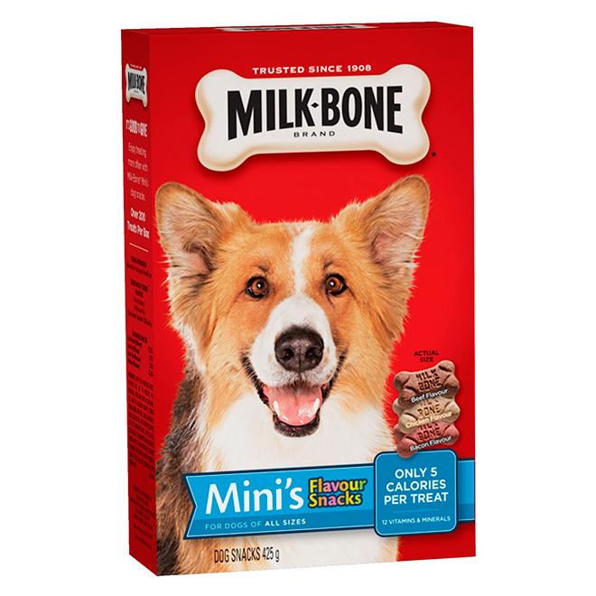 Gâterie pour chien à saveurs variées, 475 g