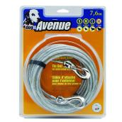 X-Large Dog Tie-Out Cable - Grey - 25'