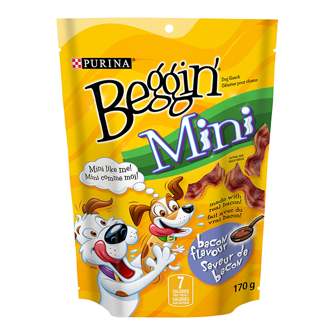 Mini Bacon Dog Treat - 170g