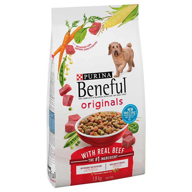Nourriture pour chien au boeuf, 4 lbs