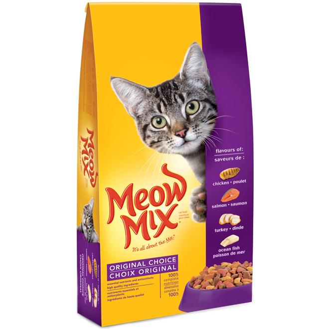 Nourriture pour chat Meow Mix, 4 kg