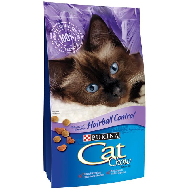 Nourriture pour chat contre les boules de poil, 7 lbs
