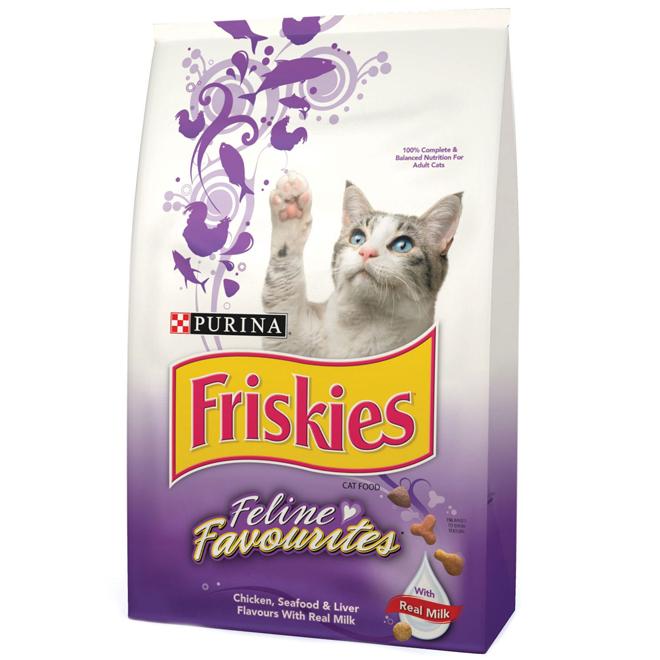 Nourriture sèche pour chat Feline Favourites, 1,43 kg
