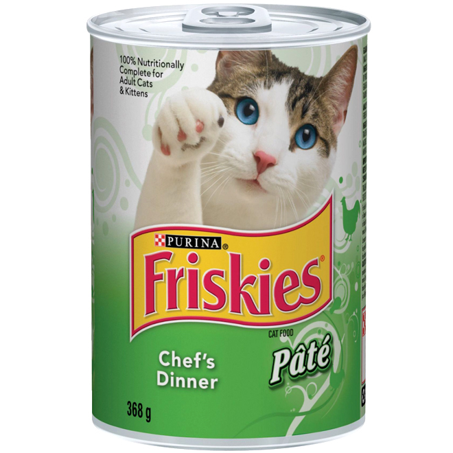 Pâté pour chat dîner du maître, 368 g