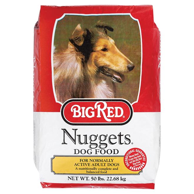 Nourriture pour chien en croquettes, 50 lbs