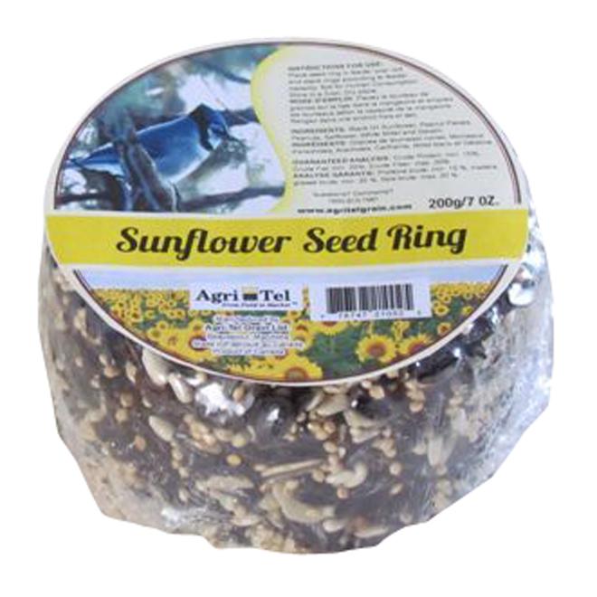 Anneau de semence au graine de tournesol, 7 oz