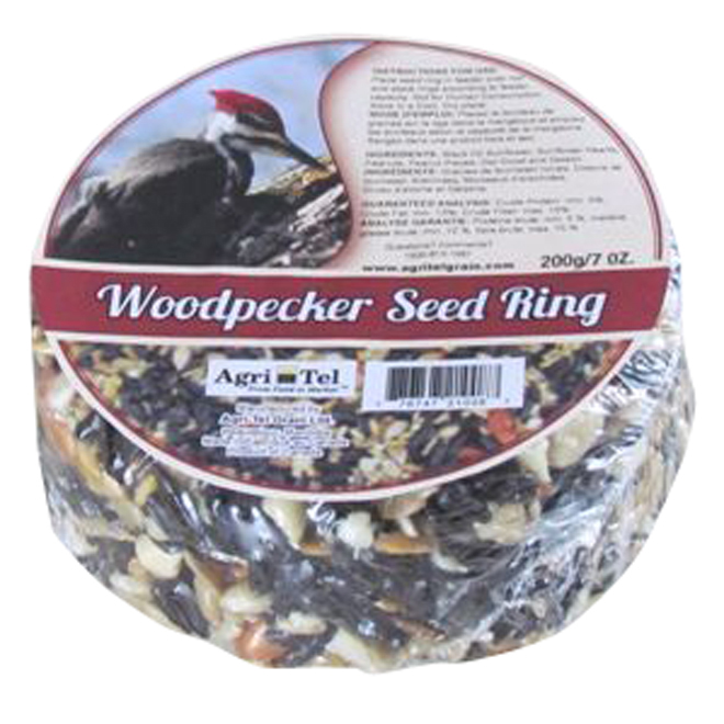 Woodpecker Seed Ring - 7oz
