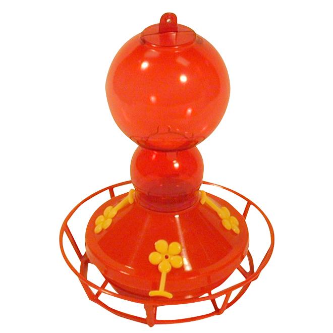 Deluxe Hummingbird Feeder - 13 oz - Red