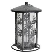 Bird Feeder - 4 Feeding Ports - Pewter