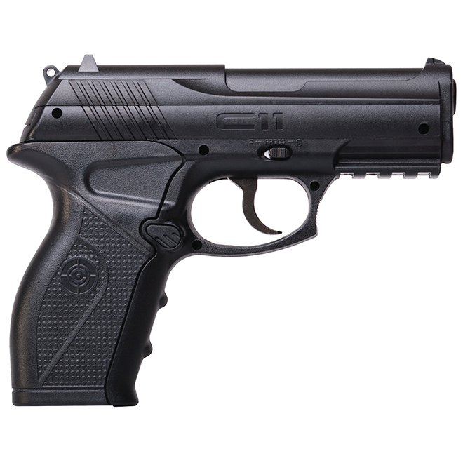 Pistol Air Gun - C11 - CO2 Semi-Automatic - BB Caliber