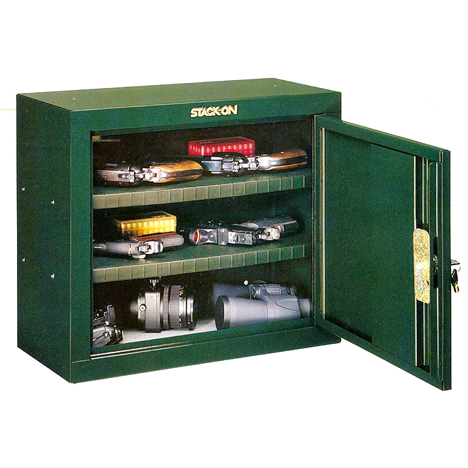 "Locking Steel Ammunition Cabinet - 21"" x 10"" x 18"""
