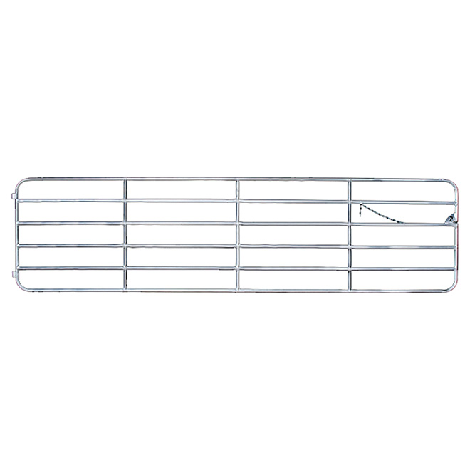 "Barrière en aluminium, Diamond Bar, 6 barres, 48"" x 16'"