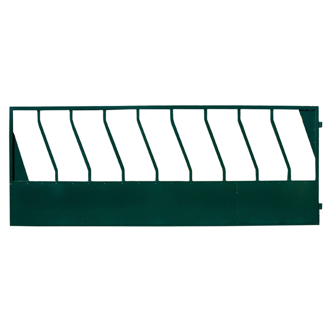 "Feeder Fence Panel - Diamond Bar - 14 GA - 48"" x 12'"