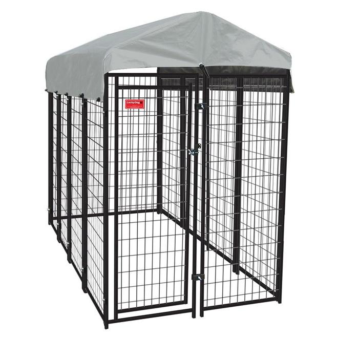Dog Kennel - Uptown Dog - 10GA - 8' x 4' x 6'