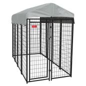 Dog Kennel - Uptown Dog - 10GA - 8' x 4' x 6'