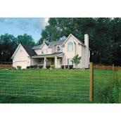 "Welded-Wire Fence - 14 GA - Zinc Coated - 2""x4"" - 60""x100'"