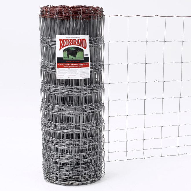"Monarch Knot Fence - 12 1/2 GA - Class 3 Galv. - 47"" x 330''"