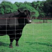 Cross Lock Fence - 9 3/4 GA -  Class 1 Galv. - 48