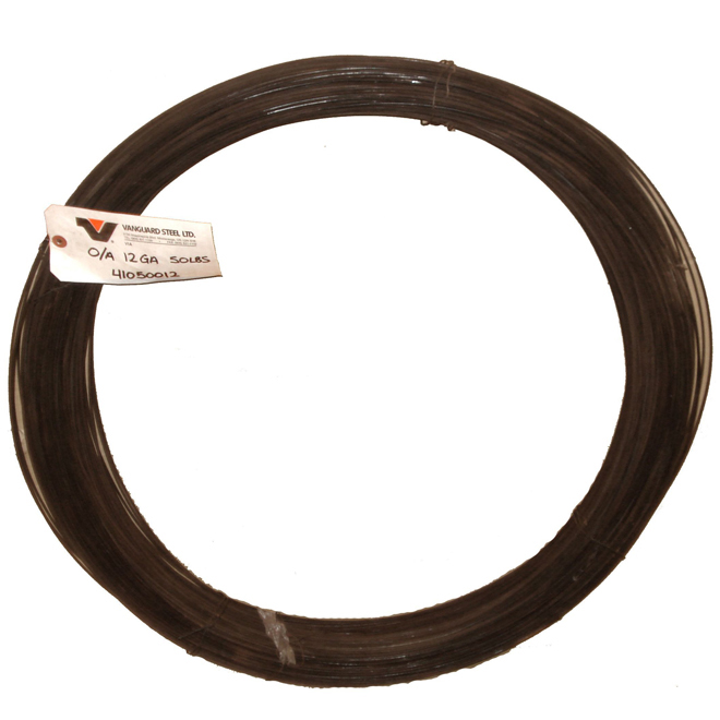 Merchant Wire - 12GA - Oiled and Annealed -50 lb Coil -1680'