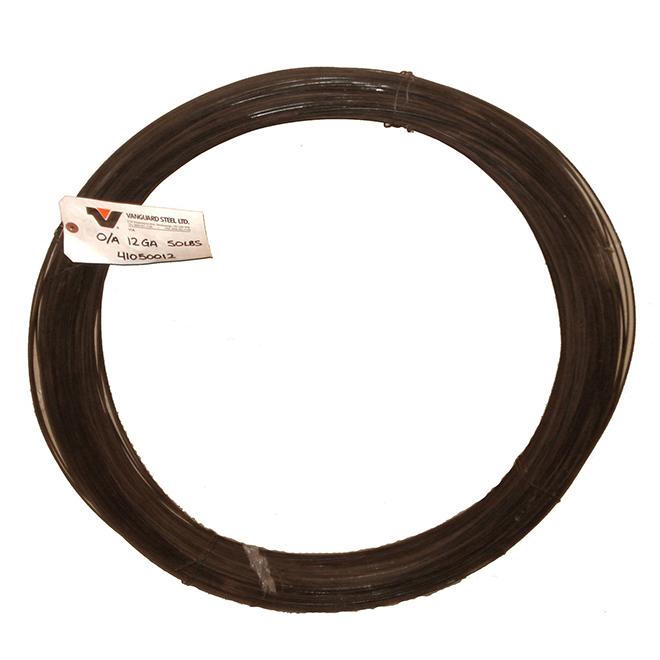 Fil marchand, cal. 14, trempé noir, bobine 50 lb, 2900'