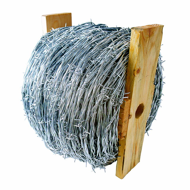 High-Tensile Barbed Wire - 2 Strand - 15 1/2 GA - 1320'