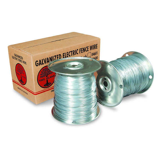 Galvanized Electric Fence Wire - 17 Gauge - 400m
