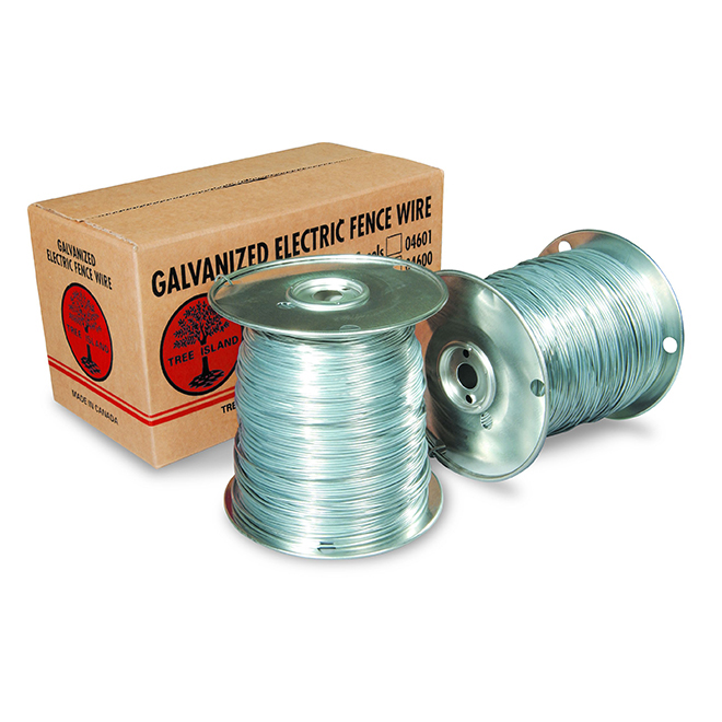 Galvanized Electric Fence Wire - 16 Gauge - 800m