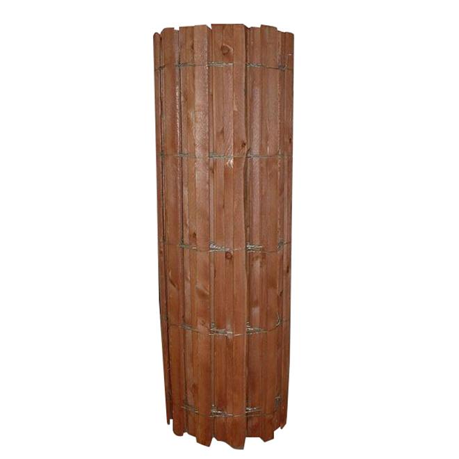 """Clôture à neige en bois, calibre 14, liée par fil, 48"""" x 50'"""