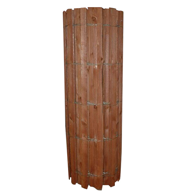 "Wood Snow Fence - 14 GA - Wire Bound - 48"" x 100'"