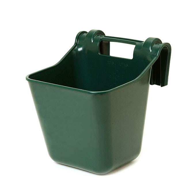 Mangeoire accrochable, 3 gallons, vert