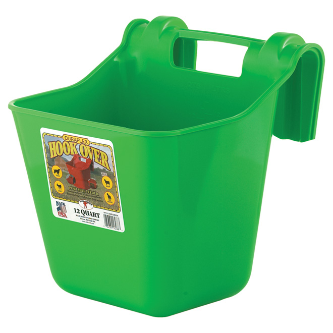 Mangeoire accrochable, 3 gallons, vert lime