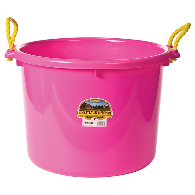 Muck Tub Bucket - 66 L - Hot Pink