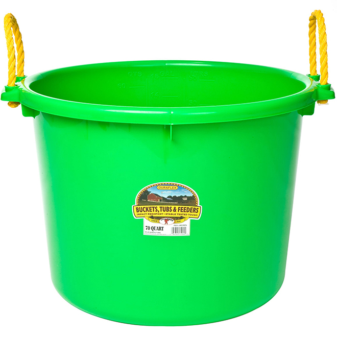 Muck Tub Bucket - 66 L - Lime Green