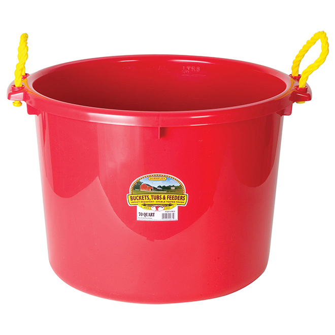 Muck Tub Bucket - 66 L - Red