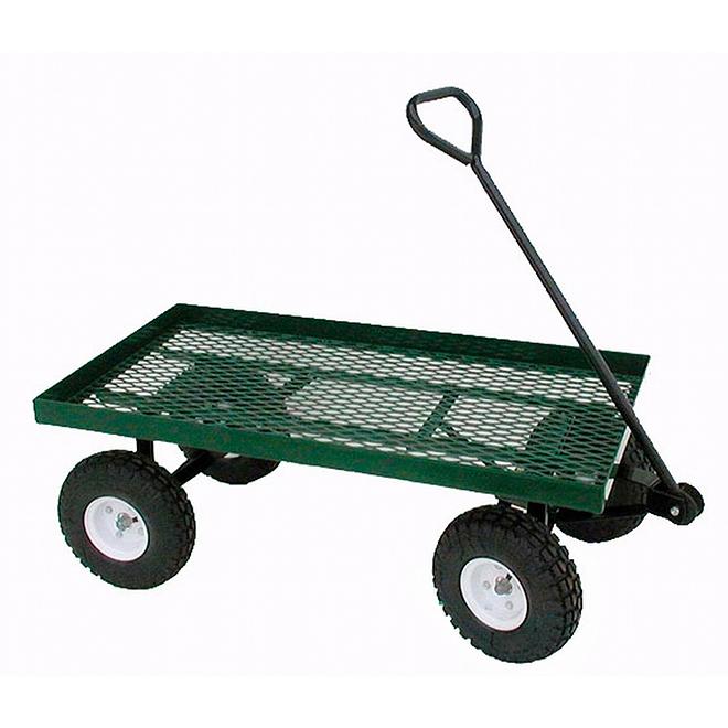 Chariot pour balle de foin, 4 roues, capacité de 800 lb