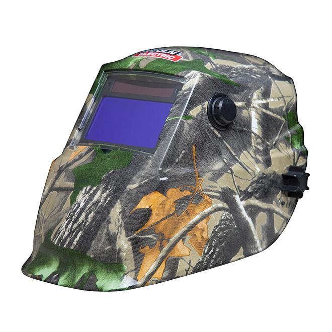 Masque de soudeur, 4 capteurs, camouflage