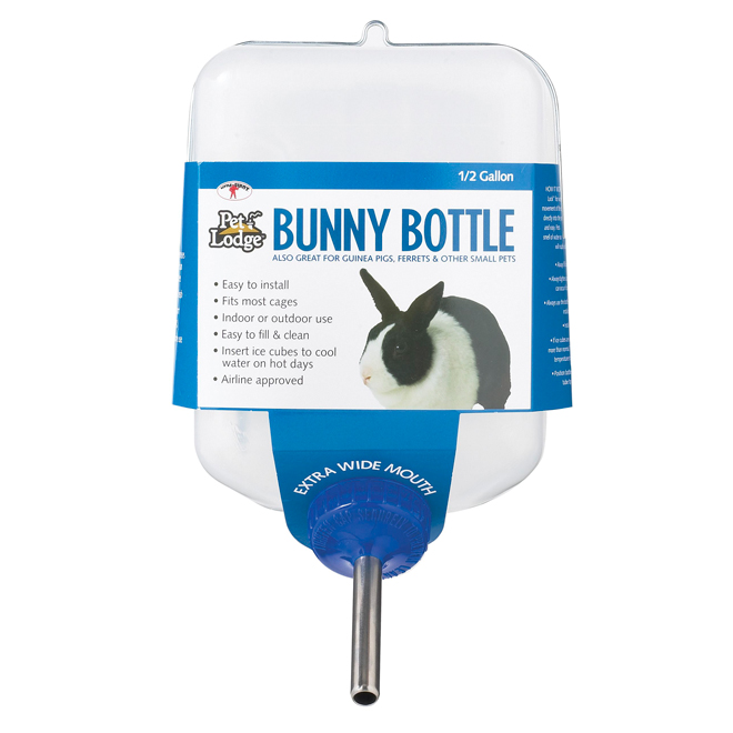 Rabbit Water Bottle - Plastic - 64 oz