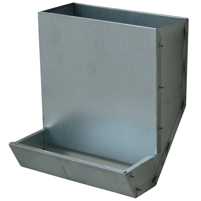 Rabbit Feeder - Galvanized Steel - 5 lbs Capacity