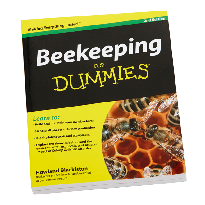 Beekeeping for Dummies Book - 2nd Edition