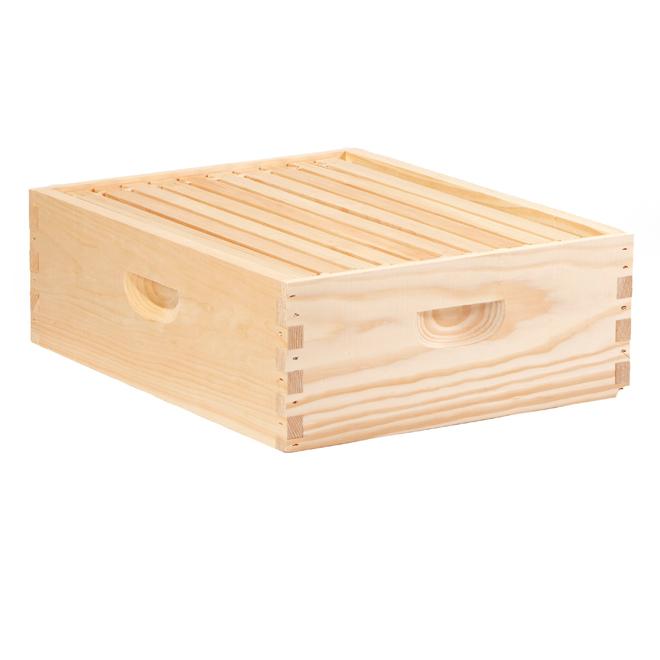 """Hausse pour ruche à dix cadres, volume 6 5/8"""", cadres 6 1/4"""""""