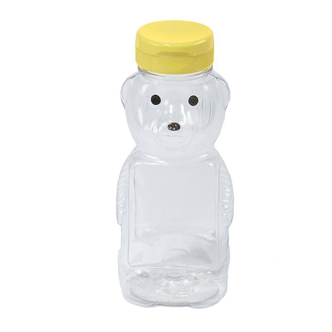Bear Plastic Honey Bottle - 12 oz