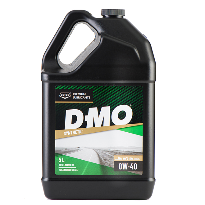 Synthetic Diesel Engine Oil - D-MO Gold SL - 0W-40 - 5 L