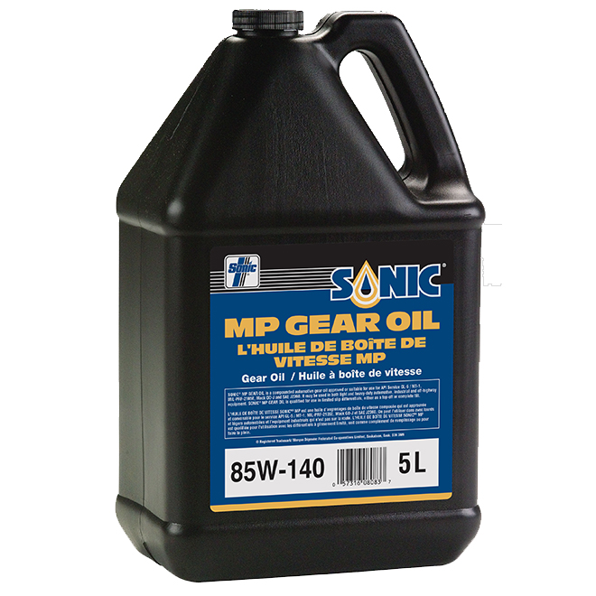 Huile à engrenage MP, 85W140, 5 l