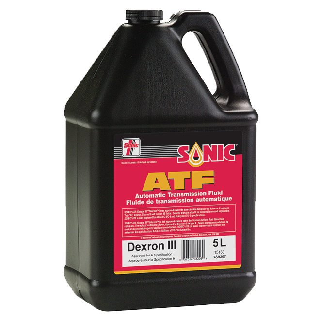 Liquide de transmission automatique, Dexron III/Mercon, 5 l