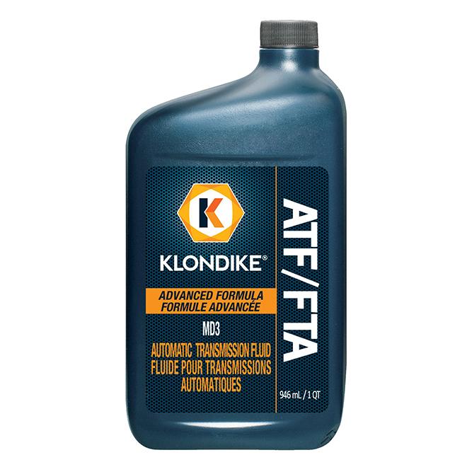 Liquide de transmission automatique, MD3, 946 ml