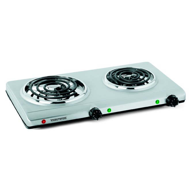 Portable Electric Double Coil Cooking Range